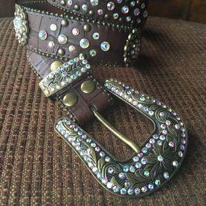 Accessories - Western 💎 Jeweled Belt